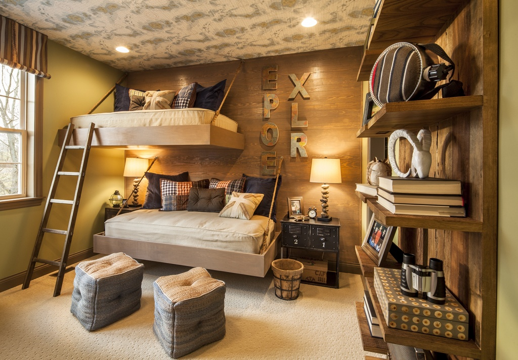 Оригинальные подвесные кровати
