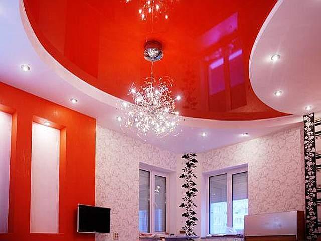 Оригинальный вариант потолка