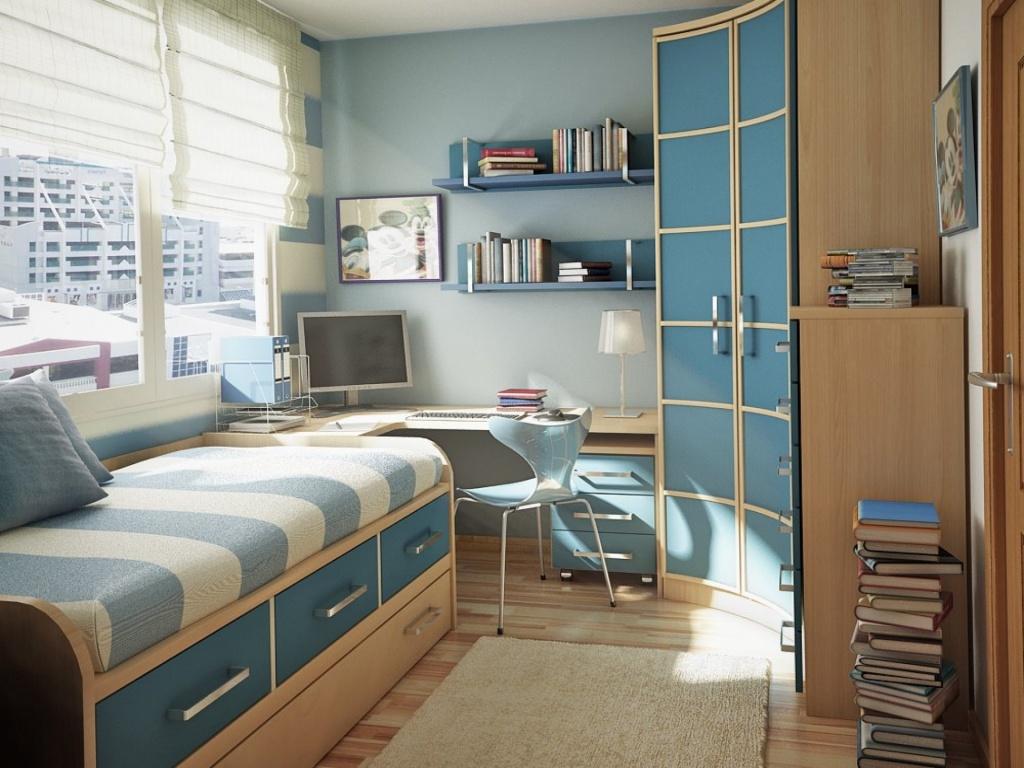 Комната для подростков школьников