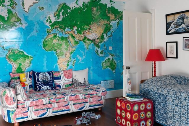 Карта мира во всю стену