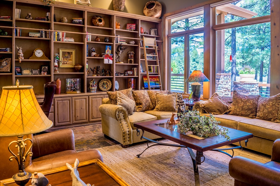 Интерьер однокомнатной квартиры в классическом стиле