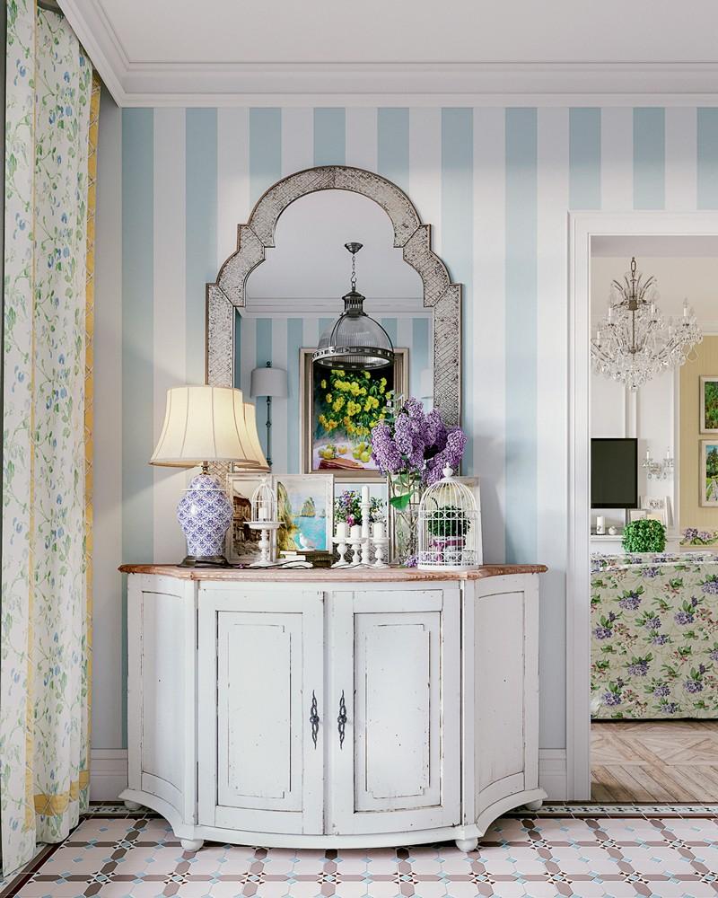 Шкафчик в прованском стиле