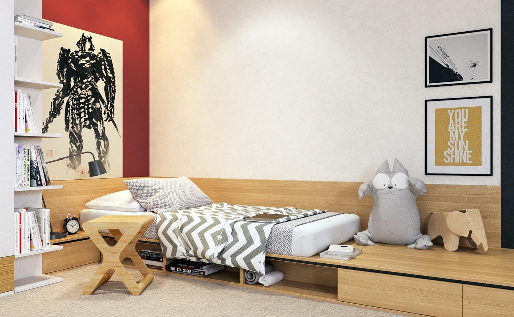 Компактное место для сна