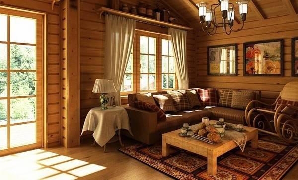 Уютная домашняя обстановка