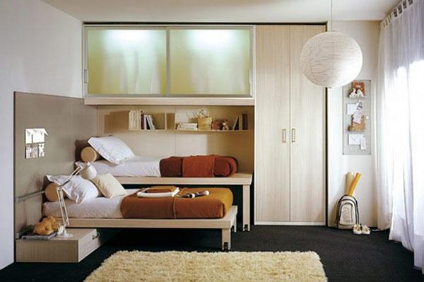 Комната с выдвижной кроватью
