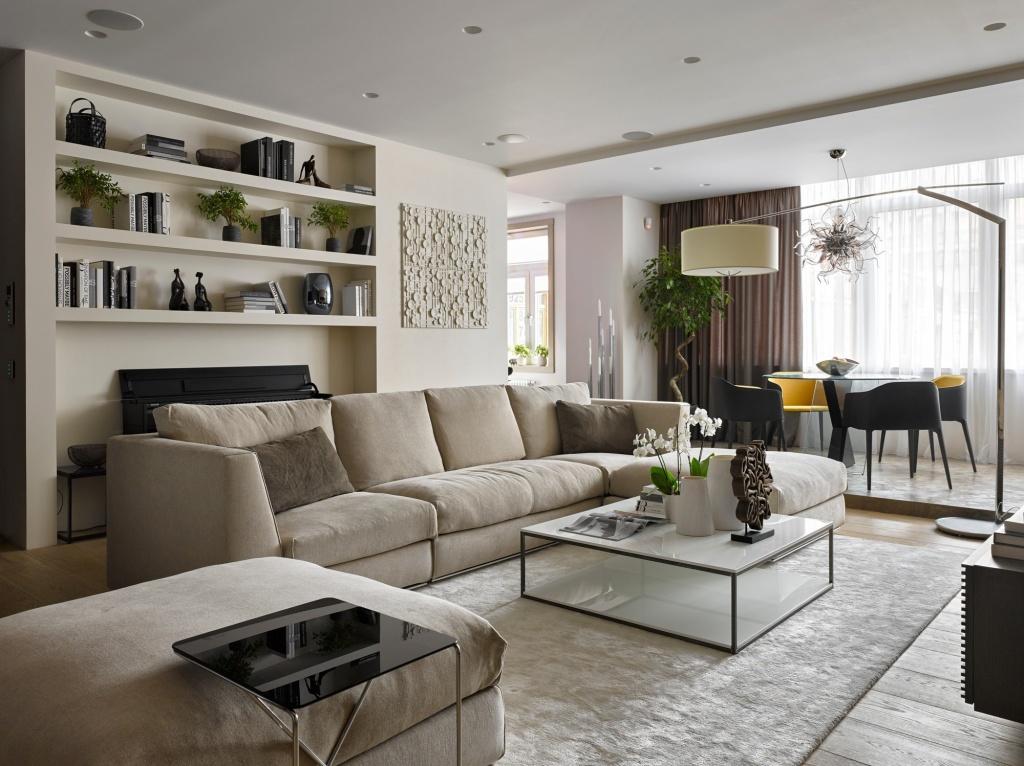 Кресла и диваны геометрических форм