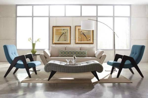 Минимум мебели в обстановке