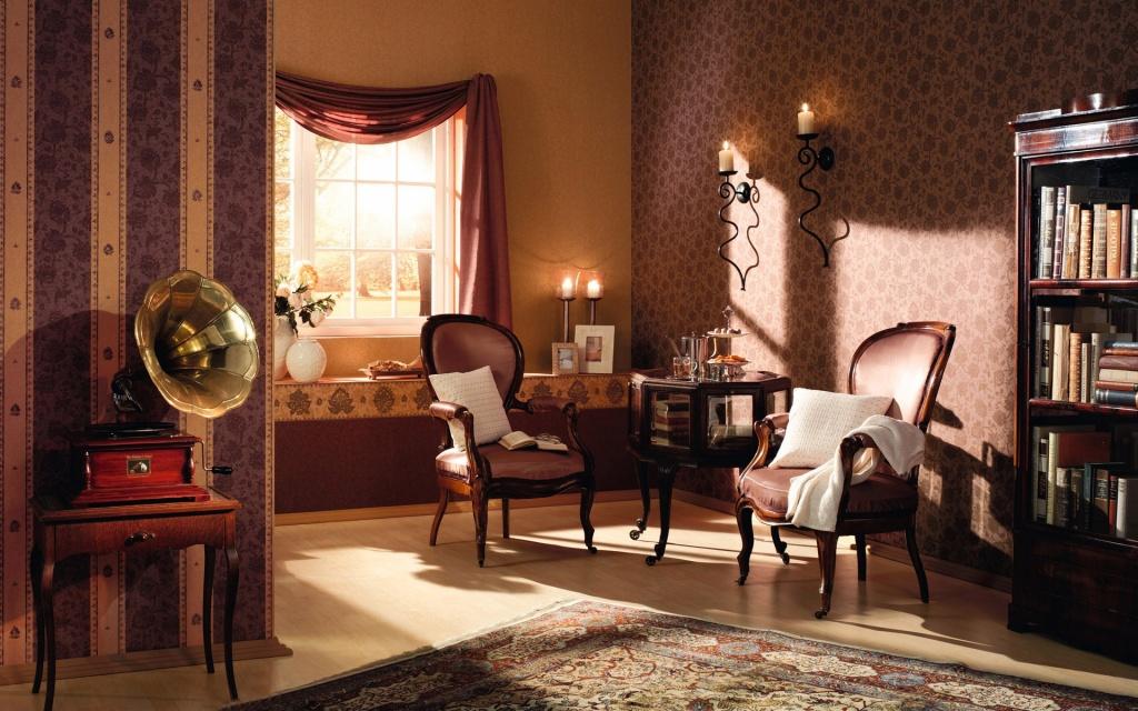 элементы классической английской гостиной 20 века