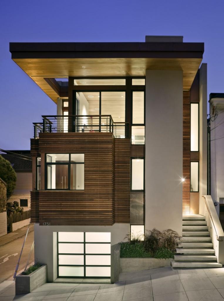 5. Сайдинг вполне комфортно уживается с современной архитектурой в стиле минимализм и хай-тек.jpg