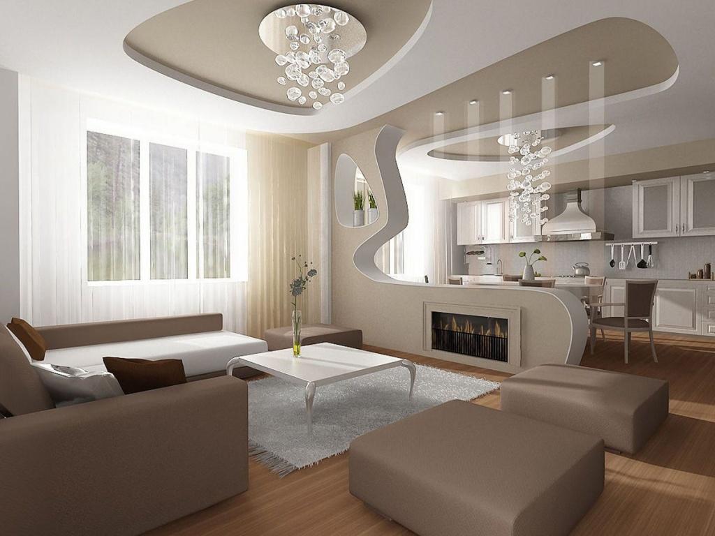 Пример освещения в угловой квартире