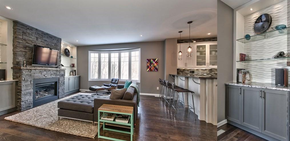 Продуманный до мелочей, уютный интерьер отвечает стильному внешнему виду дома и современному образу жизни владельцев