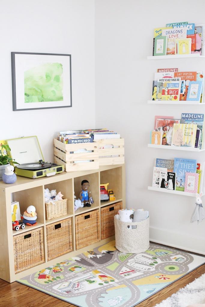 Место для хранения игрушек грудничка