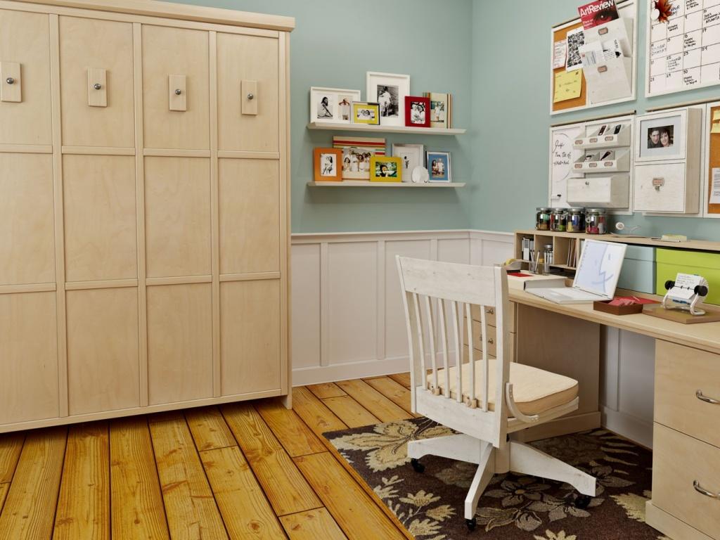 Мебель, сделанная на заказ гармонично сочетается