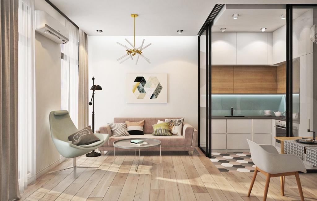 Элементы декора в интерьере минималистичной квартиры