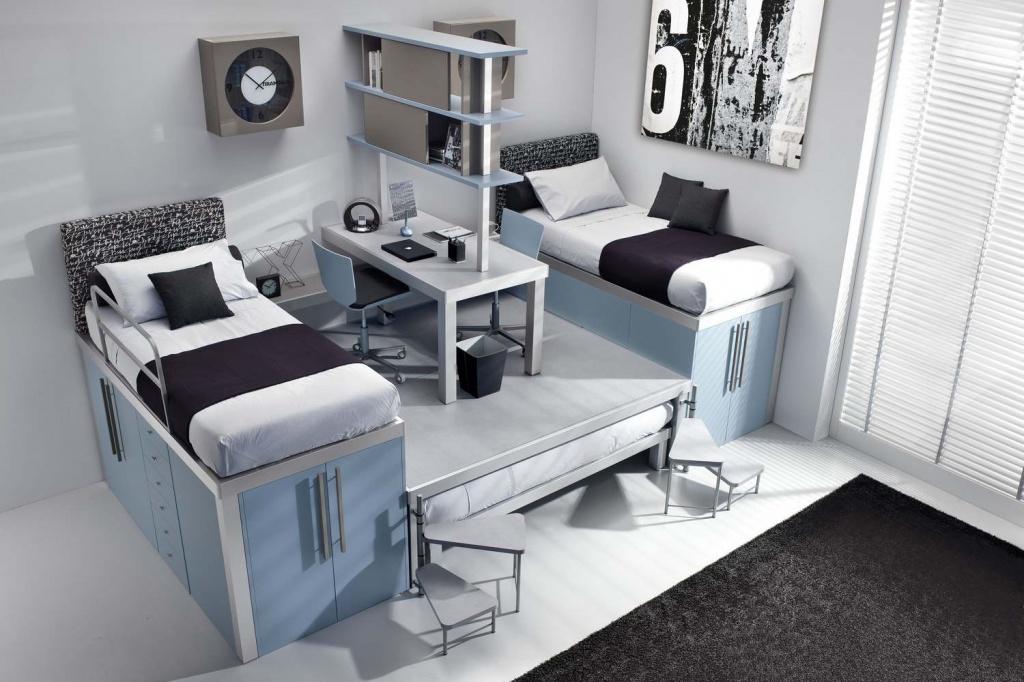 Что нужно учесть при проекте дизайна комнаты для мальчиков-подростков