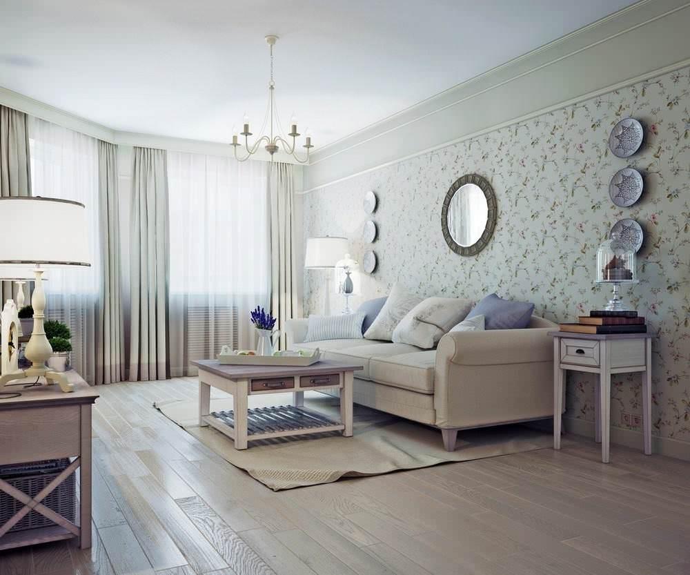 Детали стиля в современной гостиной