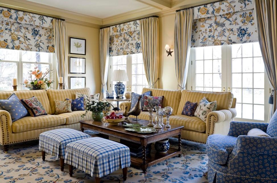 Любимые цвета Прованса: голубой лаванды и желтых подсолнухов