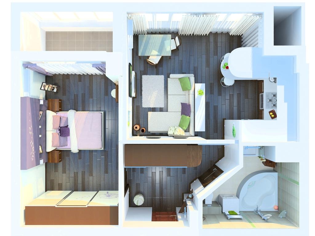 11. Такой план поможет эффективно распорядиться площадью дома
