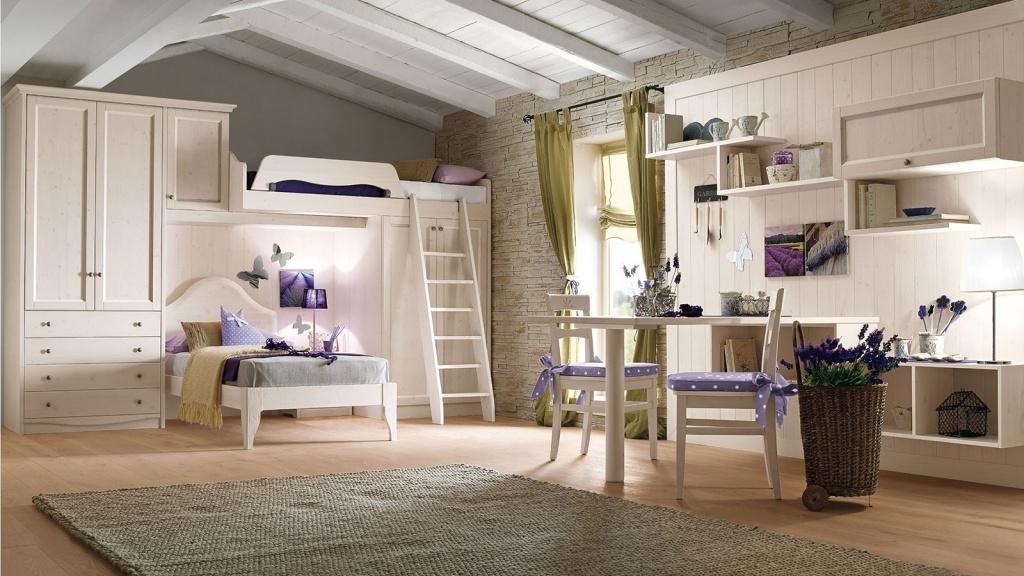 Стильная комната для девочек