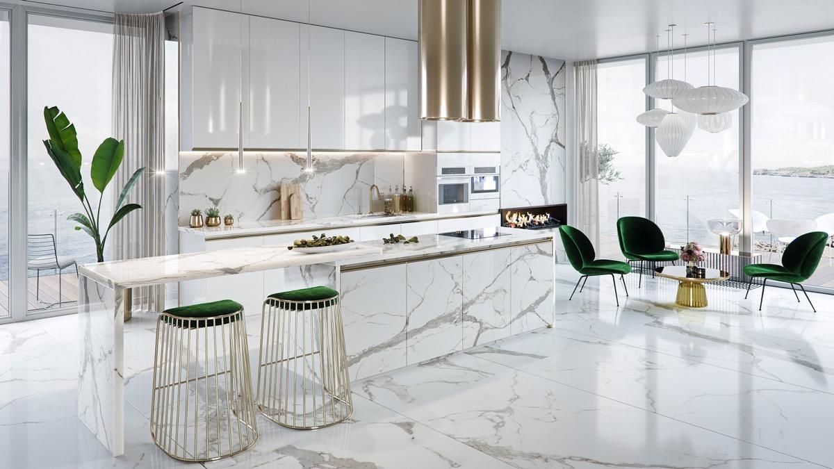 Идеи дизайна для кухни. Часть 1. Классика. Шик. Кухня в загородном доме. Скандинавский стиль.