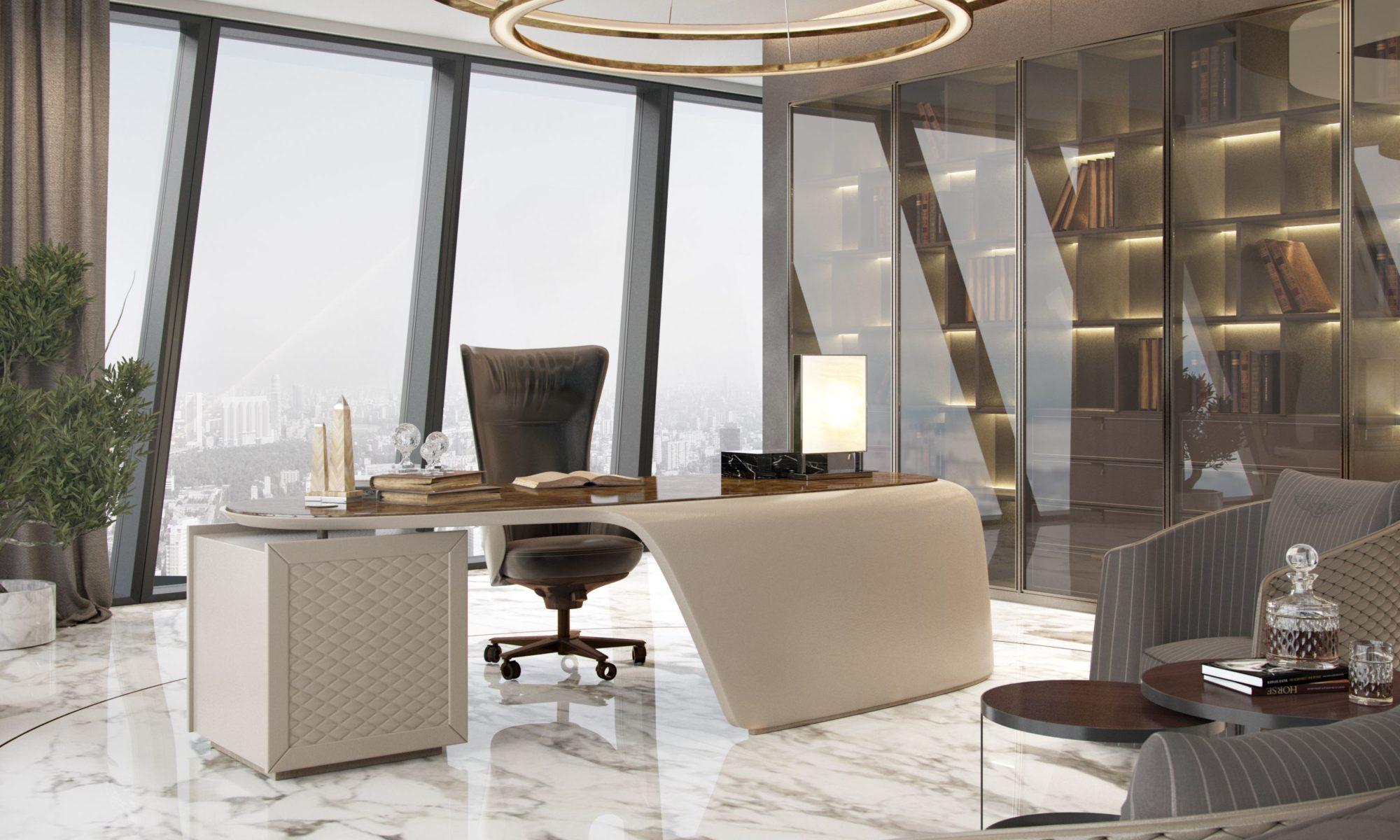 Современные стили в дизайне интерьеров офисов