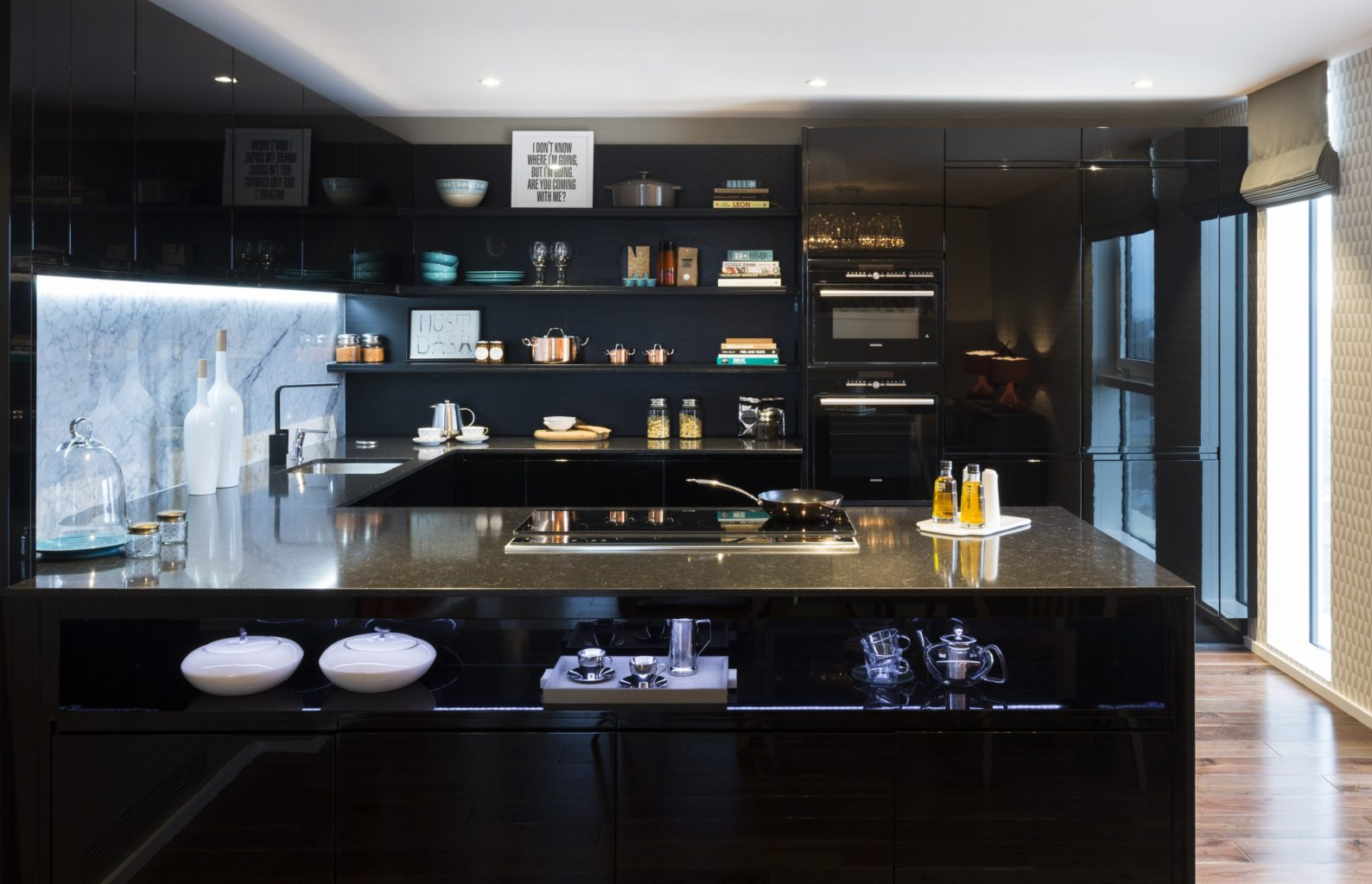 Дизайн интерьера кухни. Модерн