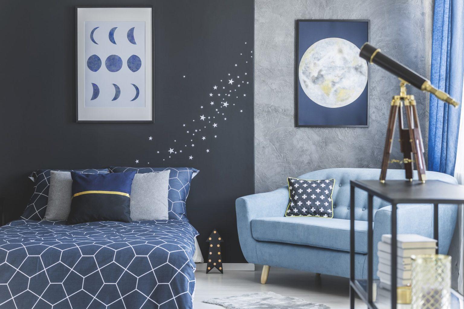 спальня для подростков хобби