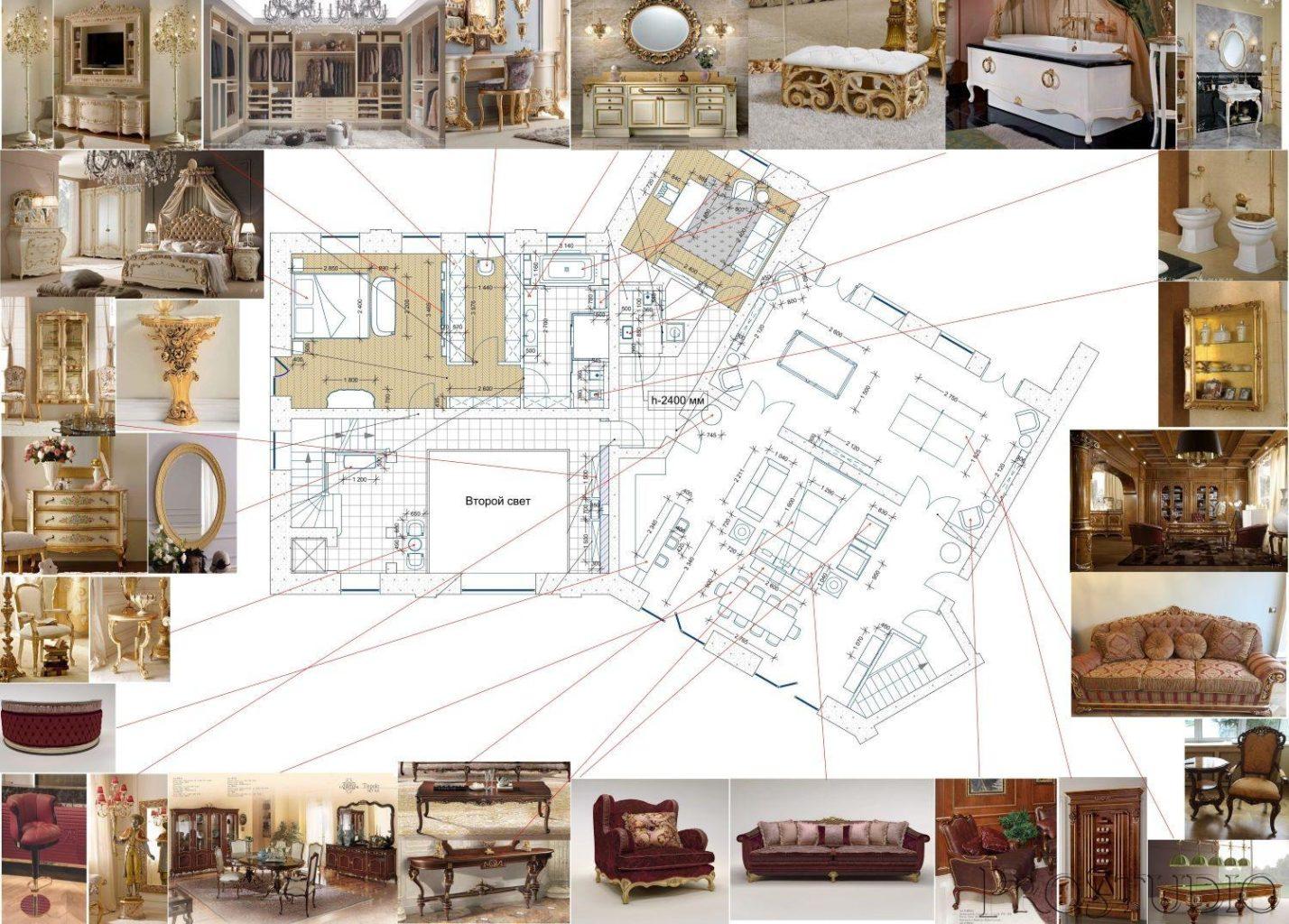 готовый дизайн- проект квартиры