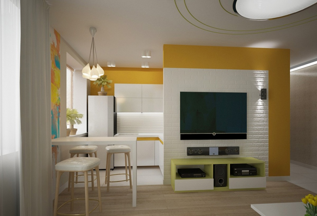 Обновляем двухкомнатную квартиру в хрущёвке: 4 новые планировки