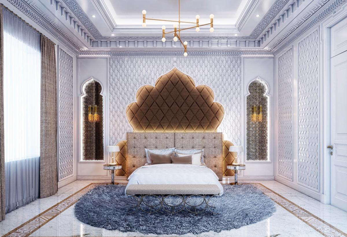 Богемный стиль спальня