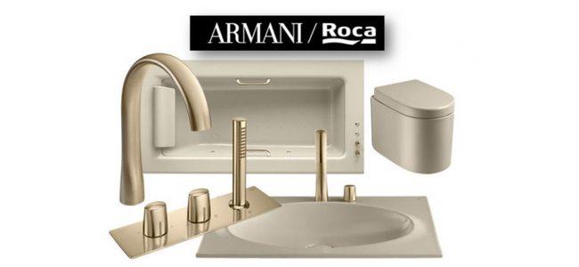 Коллекция сантехники Baia от Roca/Armani