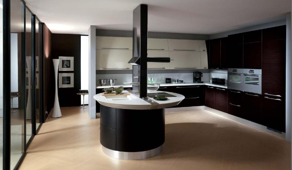 Дизайн кухни в стиле хай-тек: 35 необычных квартир с фото