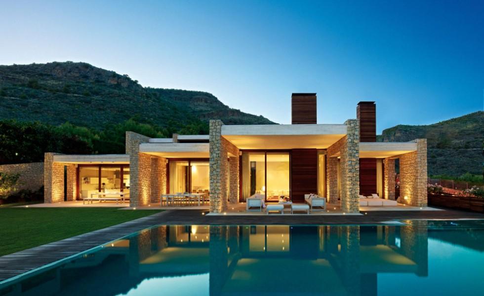 Красивые одноэтажные дома — 35 идей в разном стиле