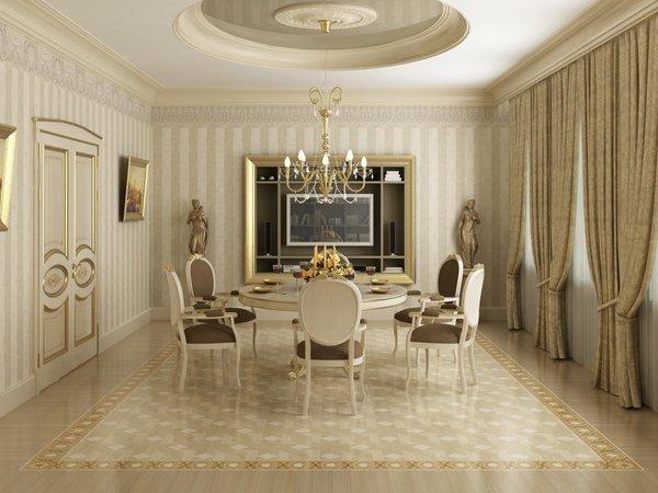Столовая в частном доме – примеры удачного дизайна