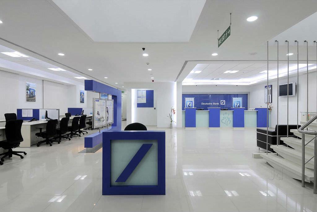 дизайн-проект офиса банка
