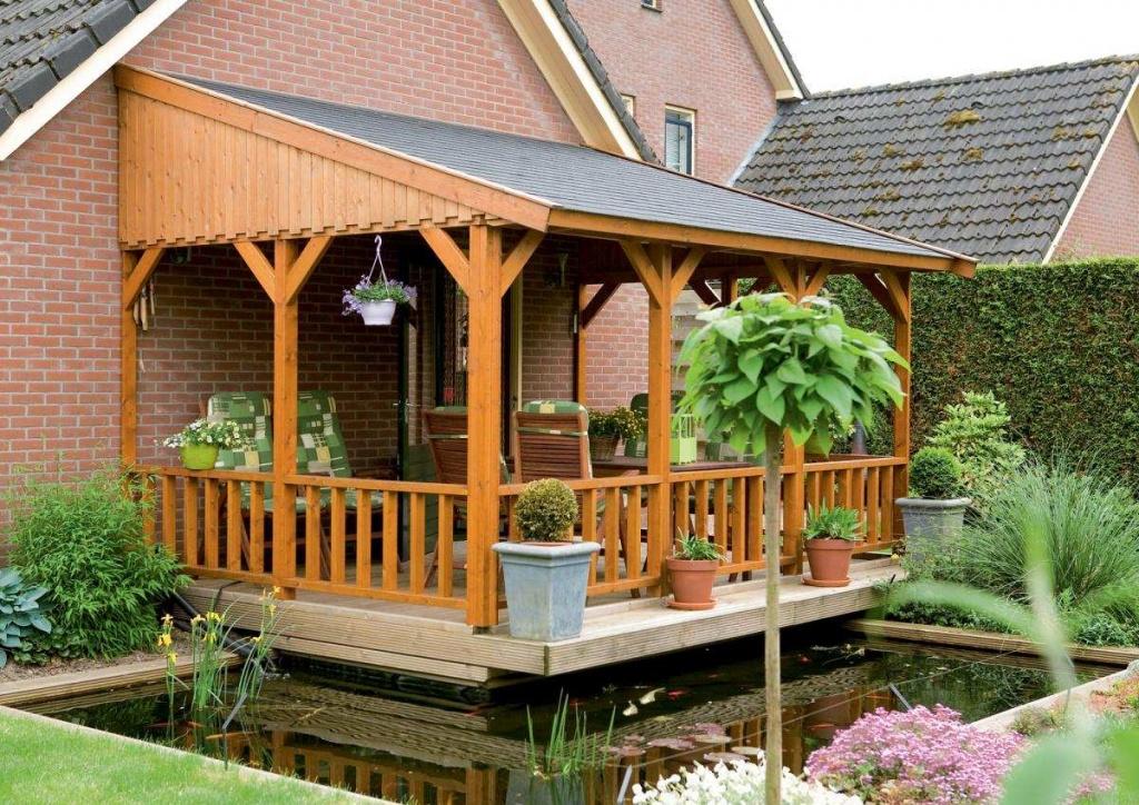 10 отличных способов оформить дизайн террасы к дому