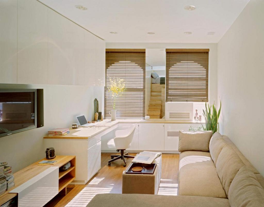 Как превратить угловую однокомнатную квартиру в уютное гнездышко