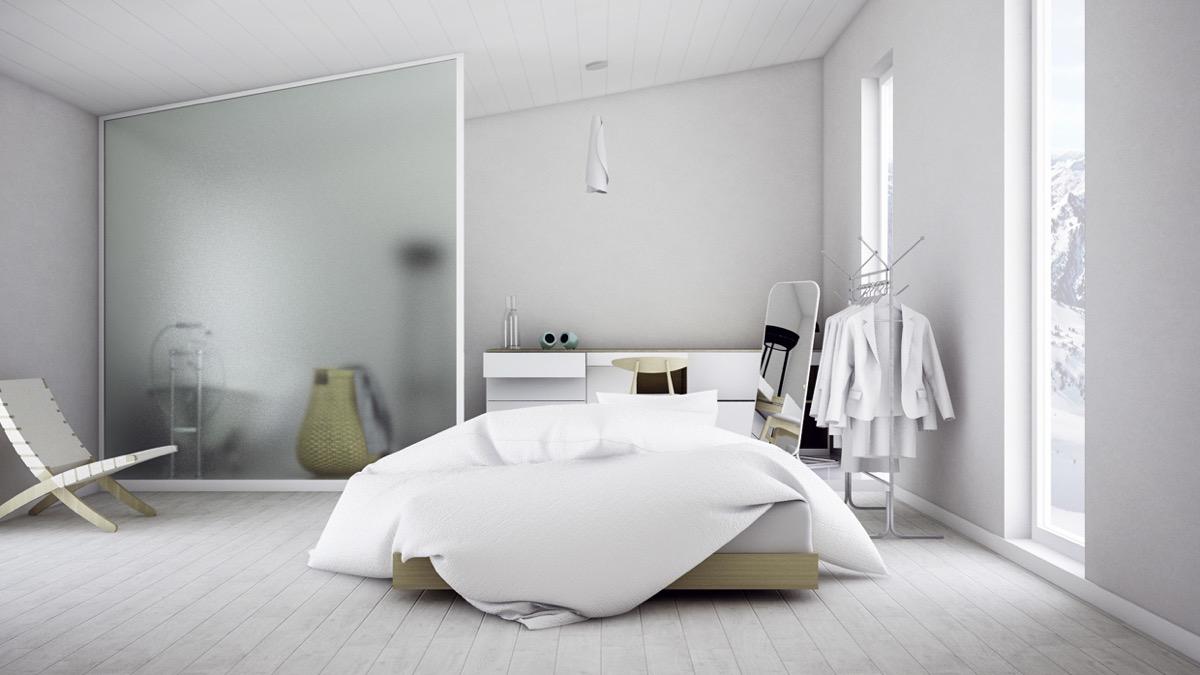 скандинавский дизайн спальни