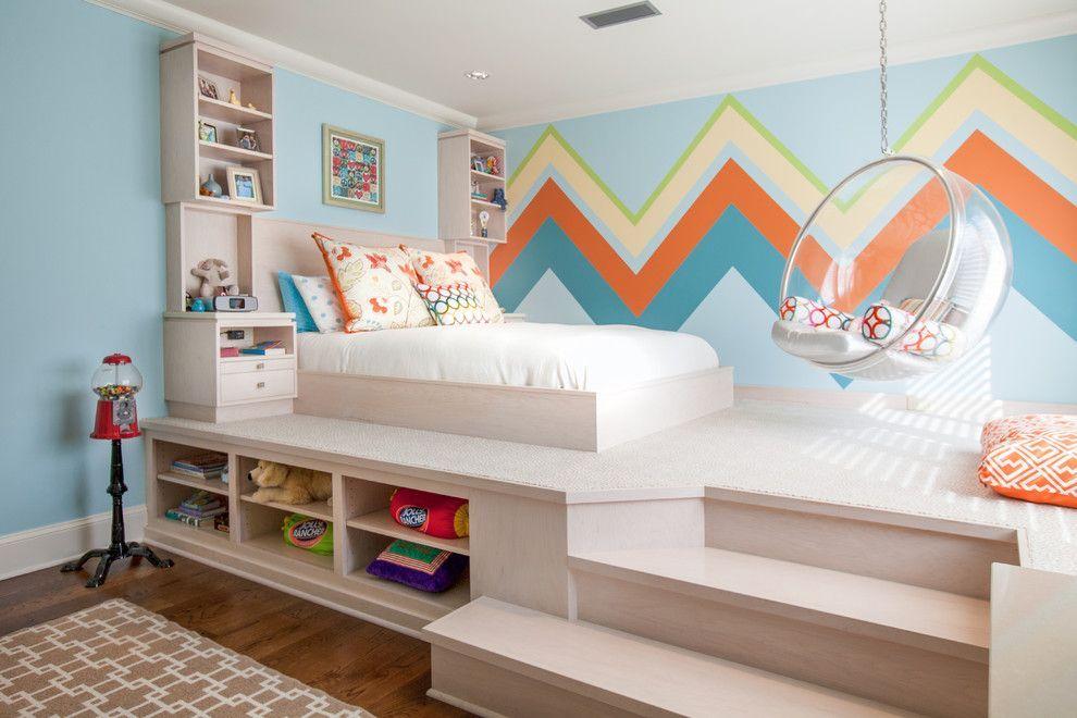 Спальня для детей покраска стен