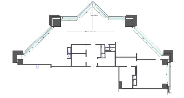 План отопительных приборов